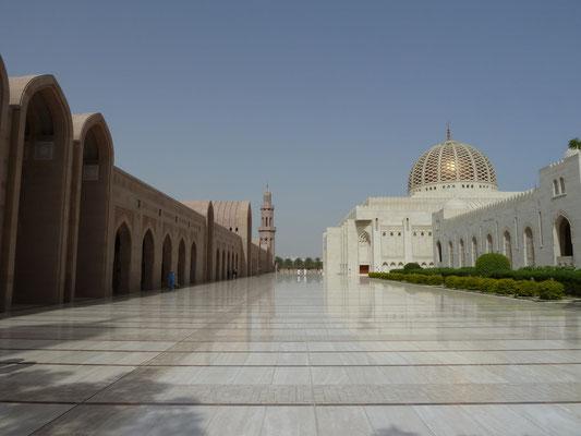 Allee zur Moschee