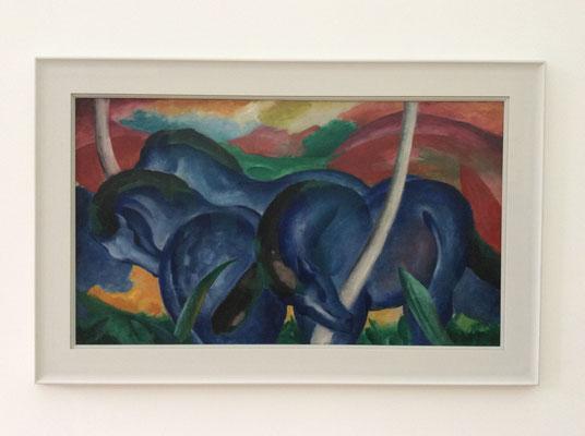 Franz Marc: Die grossen blauen Pferde (1911)