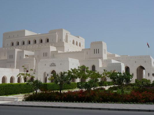 Die Oper von Maskat (mit integrierter Shopping-Mall)