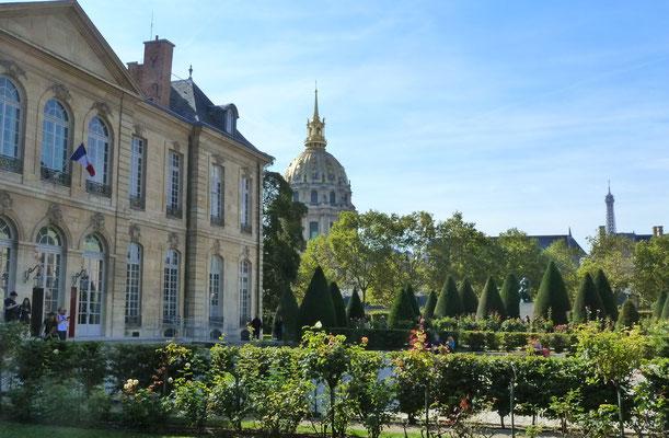 Alle Schönheit zusammen - Hôtel Biron (Rodin-Museum), Invalidendom, Eiffelturm