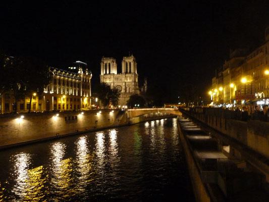 Quai des Orfèvres und Notre Dame