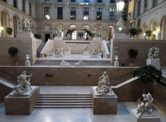 Louvre-Einblick