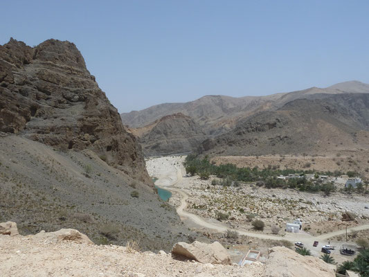 Fotostopp mit Blick auf Wadi