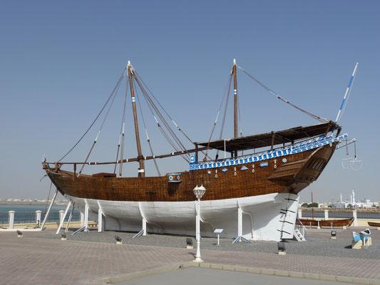 """Die Dhau """"Fatah Al Kair"""" im Dhau-Museum"""