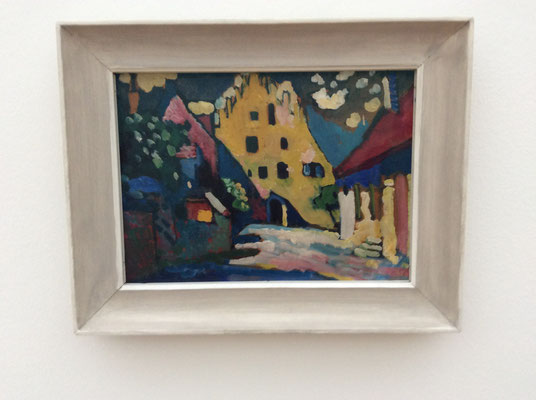 Wassily Kandinsky: Murnau - Schlossplatz (1908)