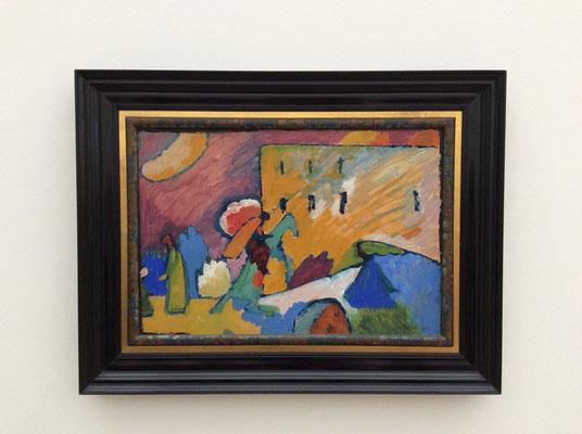 Wassily Kandinsky: Studie zu Improvisation 3 (1909)