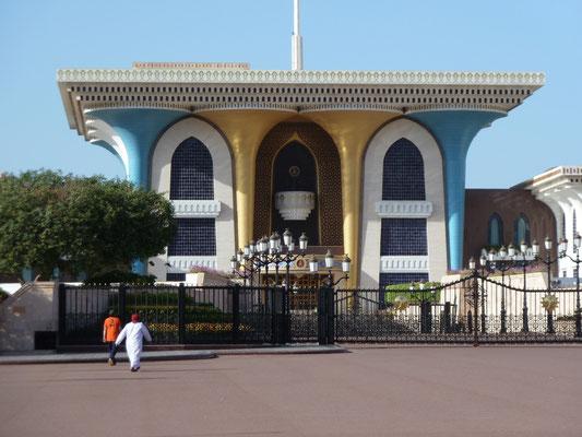 Der alte Sultanspalast