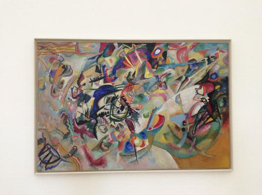 Wassily Kandinsky: Bild mit drei Flecken (???) (1914)
