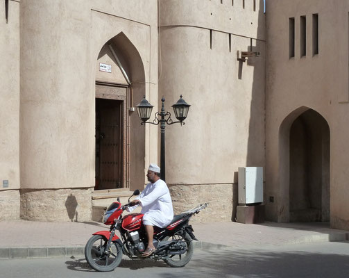 Unterwegs in Nizwa