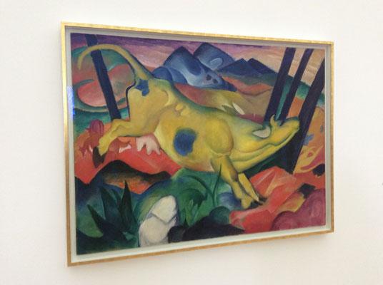 Franz Marc: Die gelbe Kuh (1911)