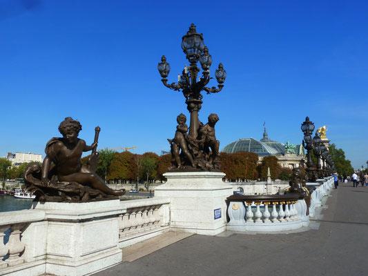 Pont Alexandre III; nochmals, weil's so schön ist