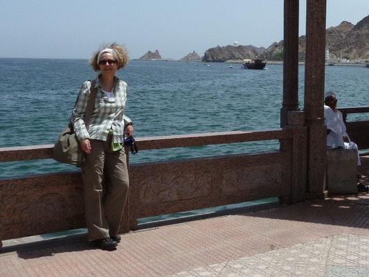 Noch eine Impression von der Corniche im Stadtteil Mutrah