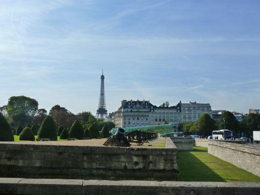 Blick übers Musée de l'Armée