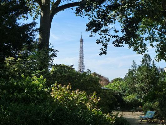 Unterwegs zum Rodin-Museum - nach der Esplanade des Invalides