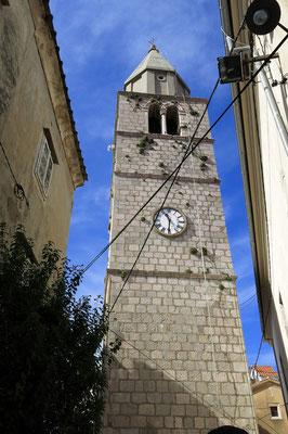 Vrbnik, Pfarrkirche St. Mariä Himmelfahrt