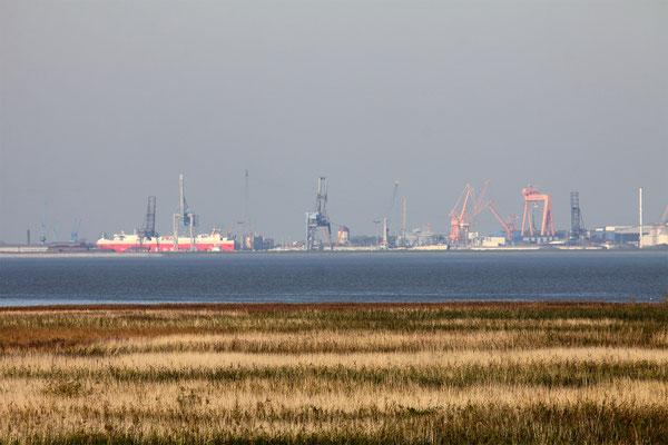 Kiekkaaste, Blick nach Emden