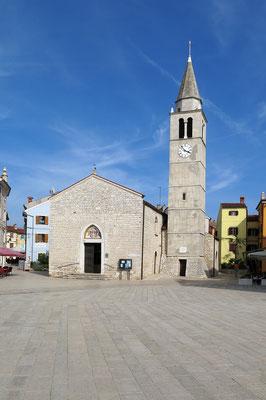 Fazana, Pfarrkirche Sveti Kosma