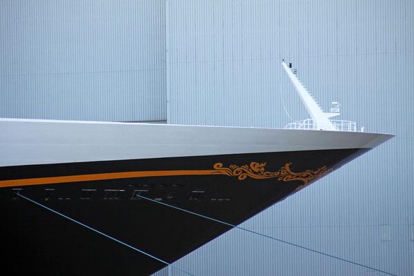 Disney Fantasy (Länge 339,5 m, Breite 37 m, Passagiere 4.000, 130.000 BRZ, fertiggstellt 2011)