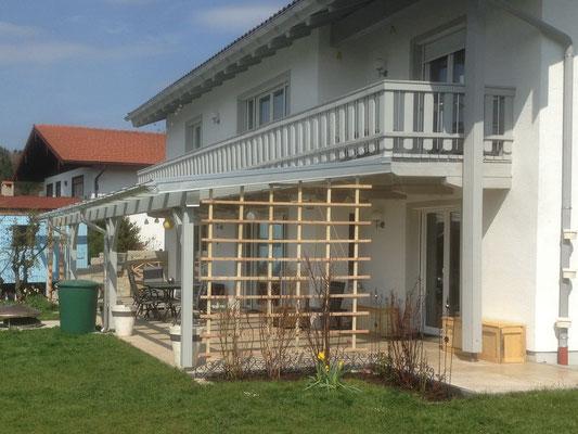 Verglastes Terrassendach / Pergola