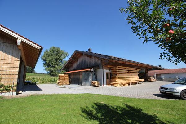 Zimmerei Holzer mit Werkstatt und Lagerhalle