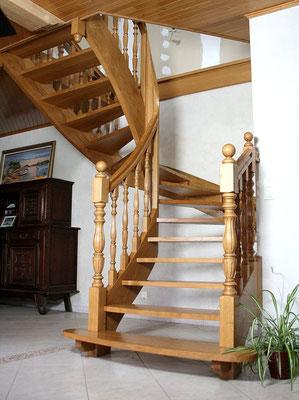escalier bois