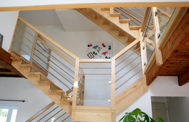 escalier multiple