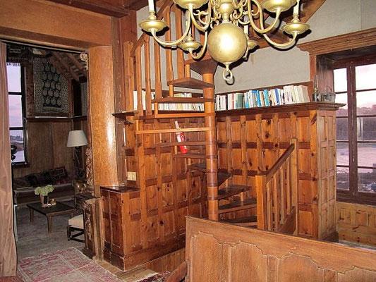rénovation escalier ancien bois