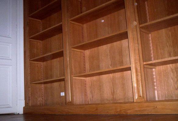 étagère bois sur mesure