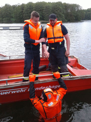 Einweisung Boot 20.05.2017
