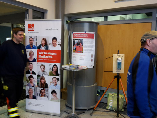 DKMS-Typisierungsaktion in Bad Oldesloe, 30.01.2016