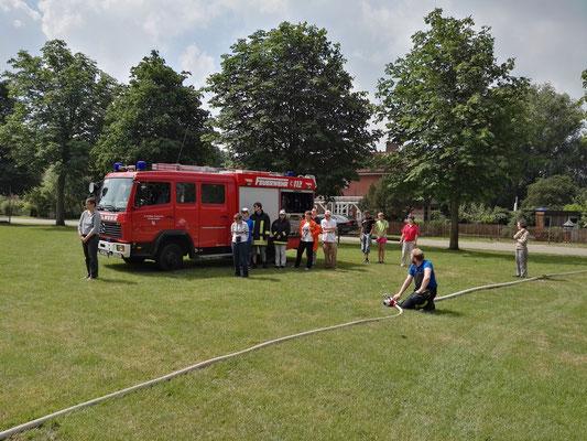 Brandschutzerziehung Thorsmoerk, 16.06.2016