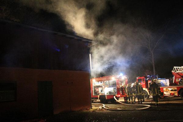 Alarmübung in Rondeshagen, 21.11.2013
