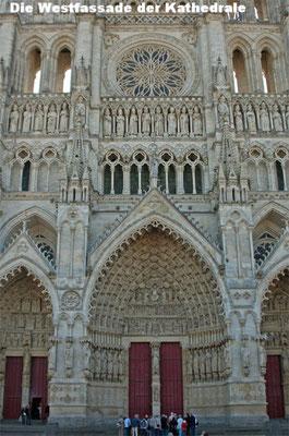 La façade ouest de la cathédrale