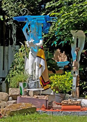 Le «Jardin Vaudou» à Evestorf