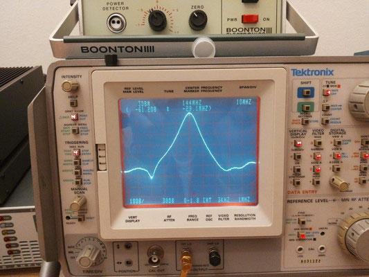 -60 dB @ 115 MHz Output cavity LNA 144 MHz