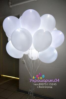 белый диод в белом шаре