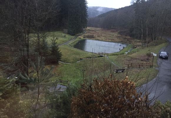 Blick vom Jagdhaus Haselruhe auf das Haseltal