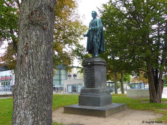 Denkmal für August Graf von Platen