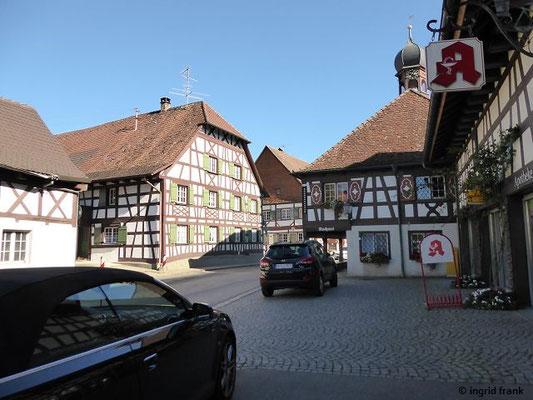 Denkmalgeschützter Ortskern von Bermatingen