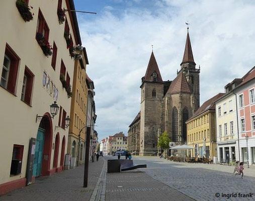 Rathaus und St. Johannis