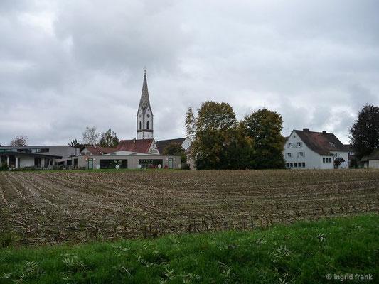 Blick auf Oberteuringen