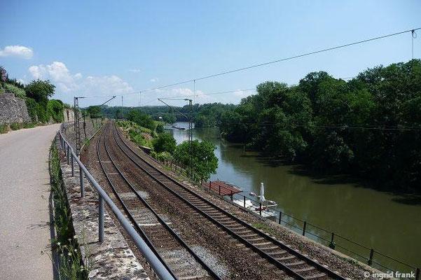 Der Neckar bei Lauffen