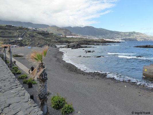 Blick von Los Cancajos nach Santa Cruz