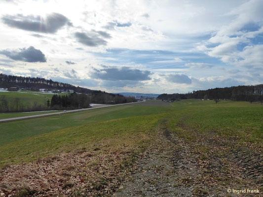 Blick von Stöcklis nach Westen Richtung Baienfurt