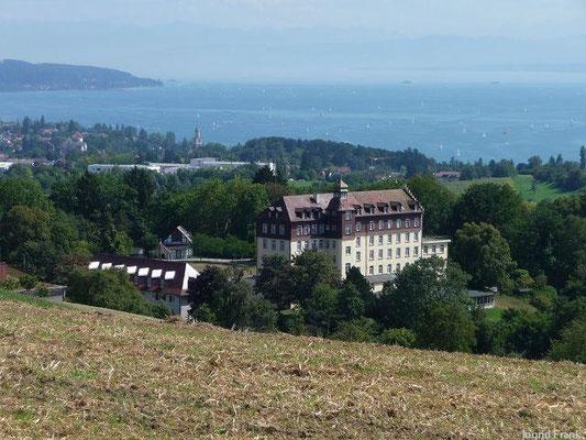 Schloss Spetzgart und Überlinger See