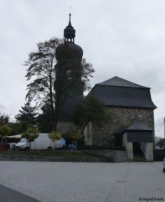 Kirche St. Aegidien in Lehesten