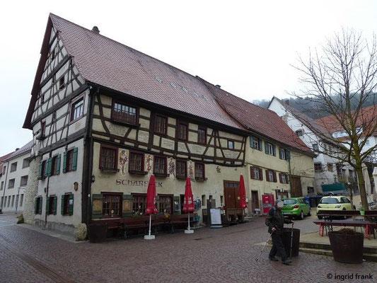 """Das Gasthaus """"Scharfeck"""" in Fridingen"""