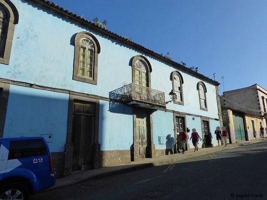Hauptstraße von Valleseco