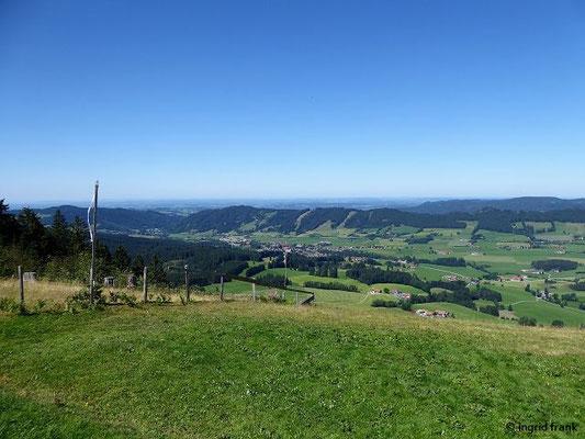 Blick Richtung Alpenvorland