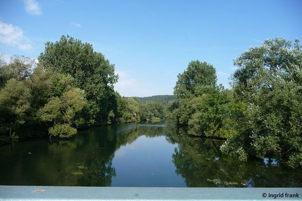 Die Donau bei Laiz
